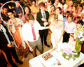 *NEW PICS* of Rob and Kristen at a wedding :))) - robert-pattinson-and-kristen-stewart photo