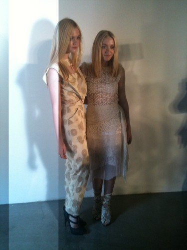 Rodarte Spring 2012 Fashion Show  - dakota-fanning Photo