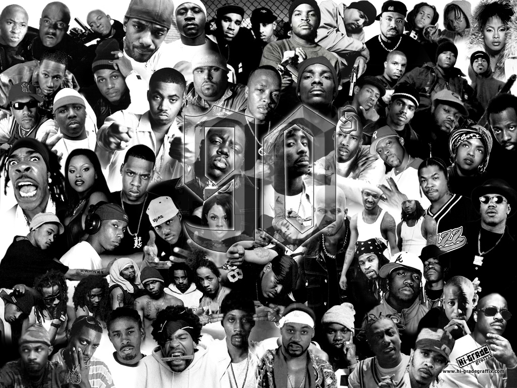 90 Great Rapper... R And B Artists 90s