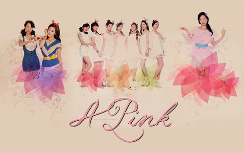 Korea Girls Group A Pink wallpaper called A PINK