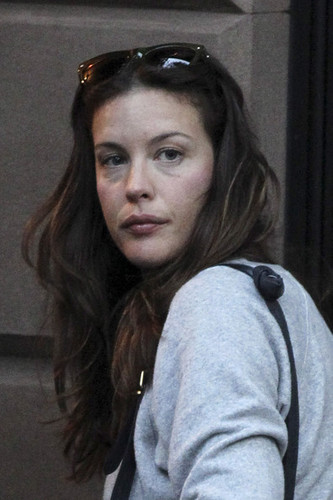 Actress Liv Tyler and son Milo are seen leaving her home pagina in New York