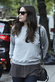 Actress Liv Tyler and son Milo are seen leaving her home in New York - liv-tyler photo