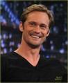 Alexander Skarsgard: 'Jimmy Fallon' & Mulberry Party! - alexander-skarsgard photo