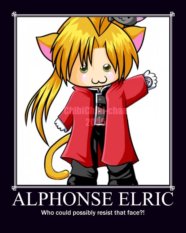 Alphonse Elric Motivator