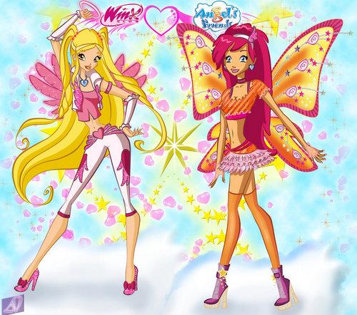 Angel's friends & Winx