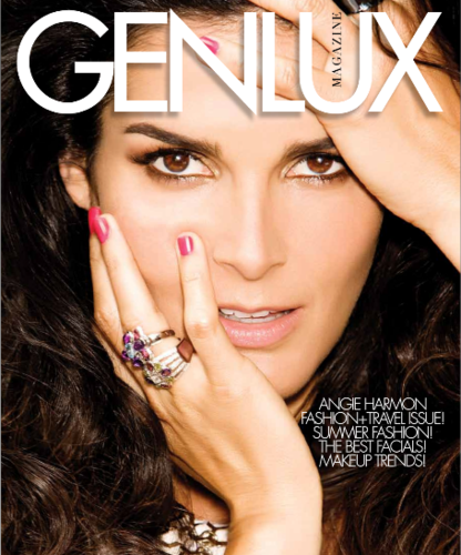 Angie Harmon for Genlux