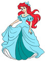 Ariel's dress blue