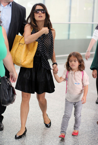Arriving at Toronto Airport with Valentina [September 10, 2011]