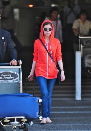 August 20 - Arriving at LAX airport