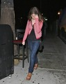 August 31 - Anna & Edgar Wright have dinner at El Cid in L.A