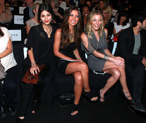 Badgley Mischka Front Row Spring 2012 Mercedes-Benz Fashion Week