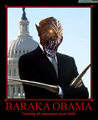 Baraka Obama - mortal-kombat fan art