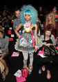 Betsey Johnson Front Row Spring 2012 Mercedes-Benz Fashion Week