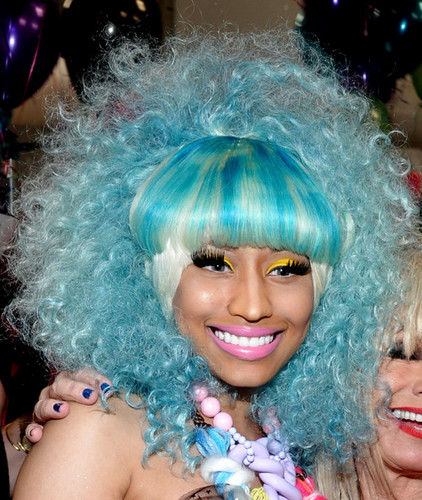 Nicki Minaj wallpaper entitled Betsey Johnson Front Row Spring 2012 Mercedes-Benz Fashion Week