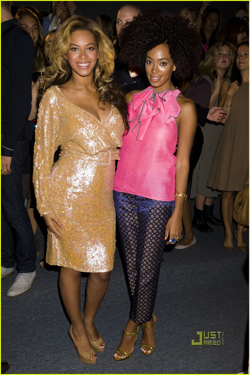 Beyonce: J. Crew Fashion Show with Solange!