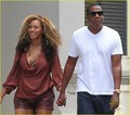 Beyonce & Jay-Z in Tribeca, New York (September 10th)