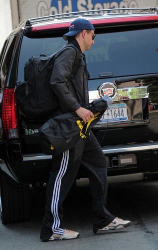 Bradley Cooper Leaves His Hotel