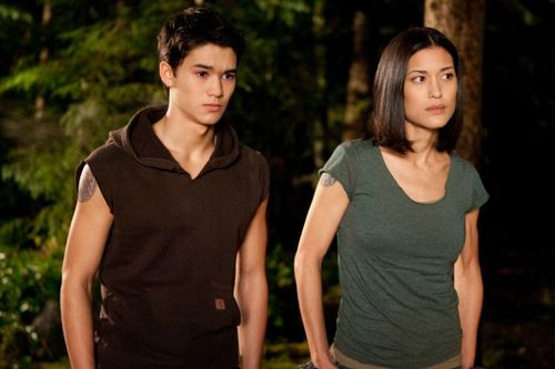 Breaking Dawn wolfpack stills