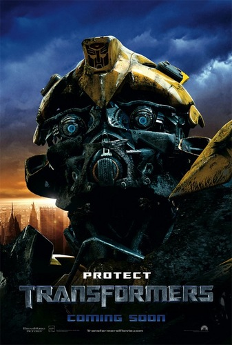 Transformers karatasi la kupamba ukuta called Bumblebee
