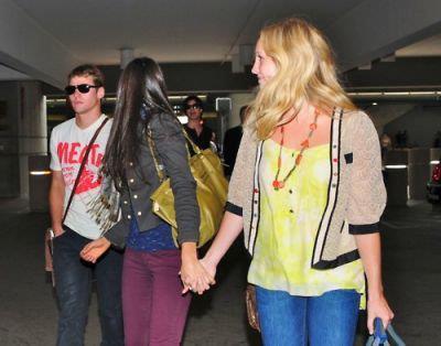 Candice,Nina,Ian and Zach in California ♥