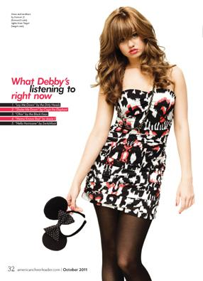 Debby Ryan karatasi la kupamba ukuta possibly with a playsuit and a portrait called Debby Ryan Photoshoots 2011