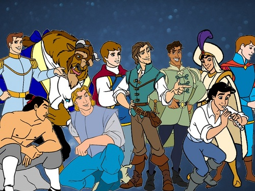 Disney Princes Line Up