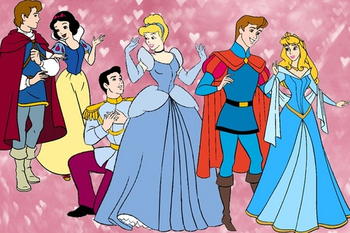 Disney Princess Couples 1