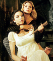 Dru and Buffy