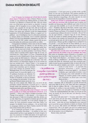 Elle Magazine (France) [October 2011]