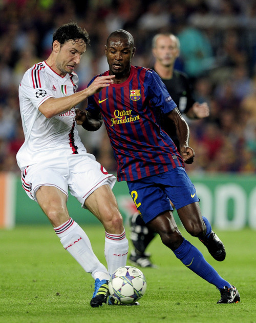 Fc Barcelona Vs Ac Milan Champions League 2