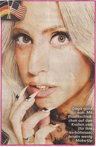 "GaGa for german ""BILD"" - Magazine"