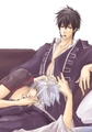 Gintoki and Hijikata - yaoi photo