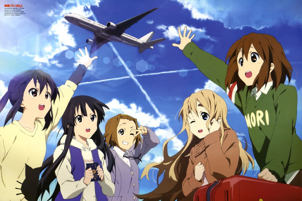 Going To England - K-ON! Photo (25201259) - Fanpop