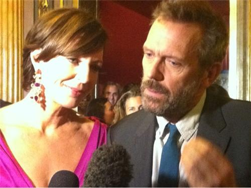 "HUGH LAURIE AND ALLISON JANNEY THE TORONTO FILM FESTIVAL PREMIERE OF ""THE ORANGES"""