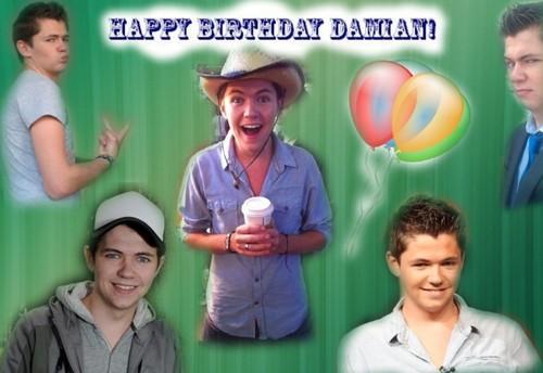 Happy Birthday Damo! (sorry it's a dag late)
