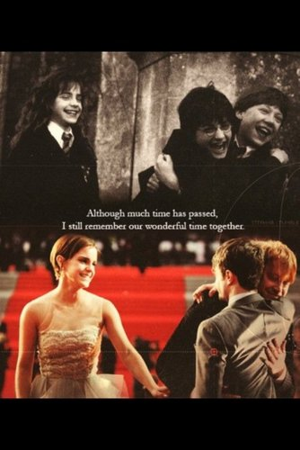 Harry, Ron and Hermione ♥