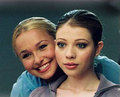 Hayden Panettiere and Michelle Trachtenberg - michelle-trachtenberg photo
