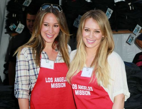 Haylie&Hilary - LA Mission's End of Summer Block Party - August 27, 2011