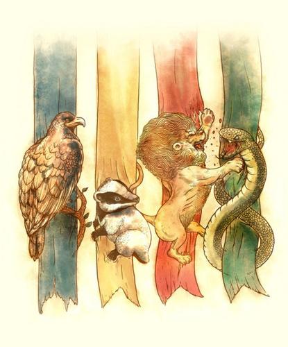 Hogwarts জন্তু জানোয়ার