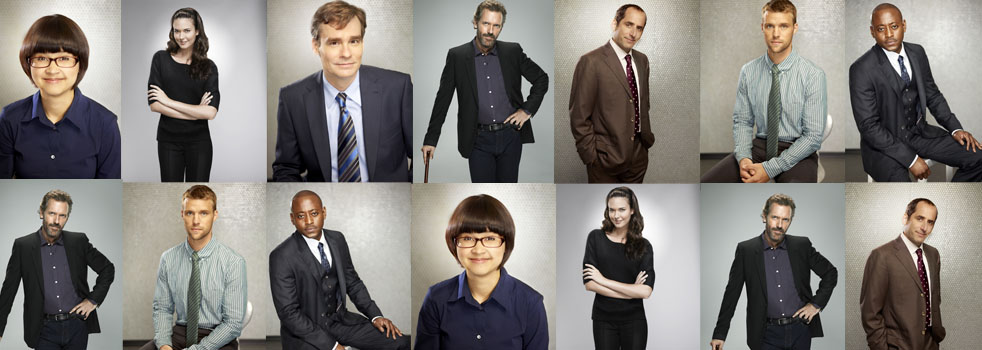 House Season 8 Cast Promotional foto LQ