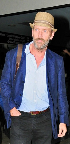 Hugh Laurie-LAX Airport 11.09.2011