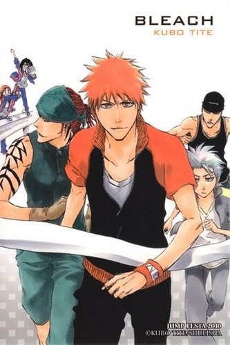 Bleach Anime wallpaper probably containing anime entitled Ichigo and friends