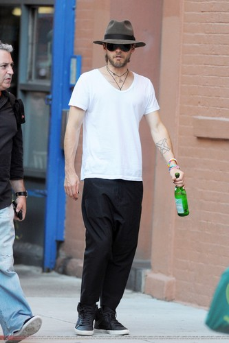 Jared Out in New York - 09 Sep 2011