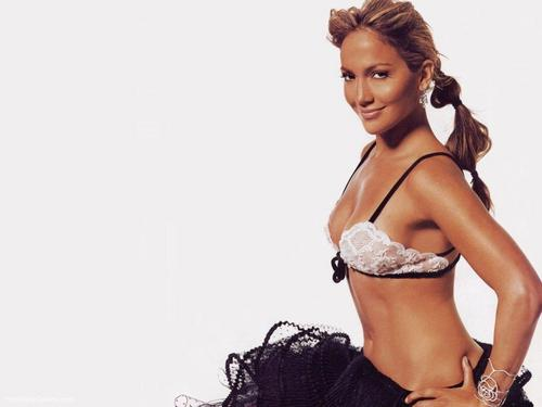 Jennifer Lopez wallpaper probably with a bikini, attractiveness, and a brassiere titled Jennifer Lopez Wallpaper