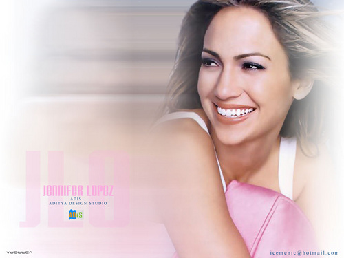 Jennifer Lopez wallpaper with a portrait called Jennifer Lopez Wallpaper
