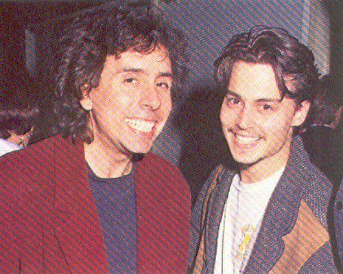 Johnny & tim burton
