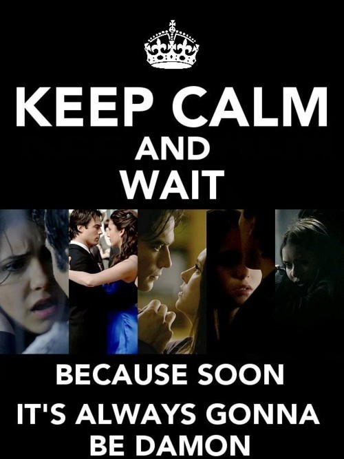 Keep Calm - the-vampire-diaries-saga Fan Art