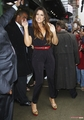 Khloe leaves ABC Studios after making an appearance on GMA - 07/09/2011