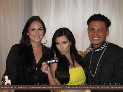 Kim Kardashian & DJ Pauly D Fashion Night Out At Dash - 9/8/11