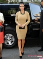 Kim heads to Rachel Roy's fashion hiển thị at Fashion Week - 12/09/2011